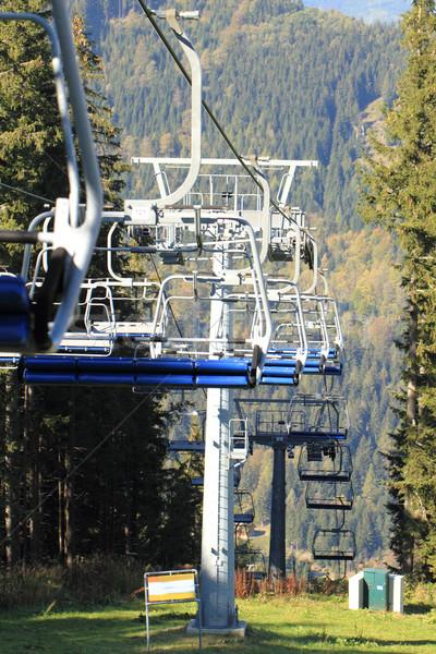 Ski lifts Stock photo © Nneirda