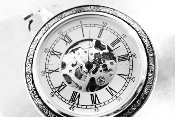 Old watch machine Stock photo © Nneirda