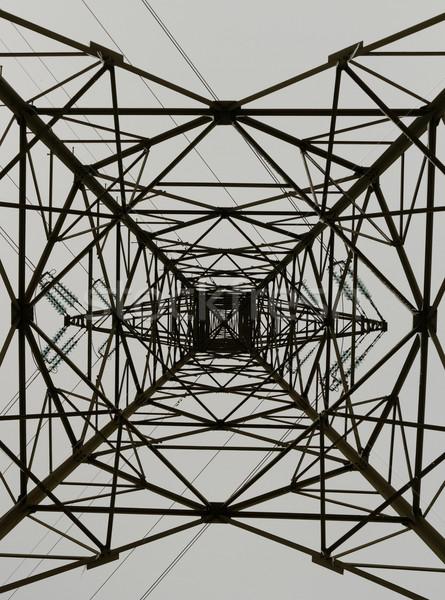 Electricity pylon Stock photo © Nneirda
