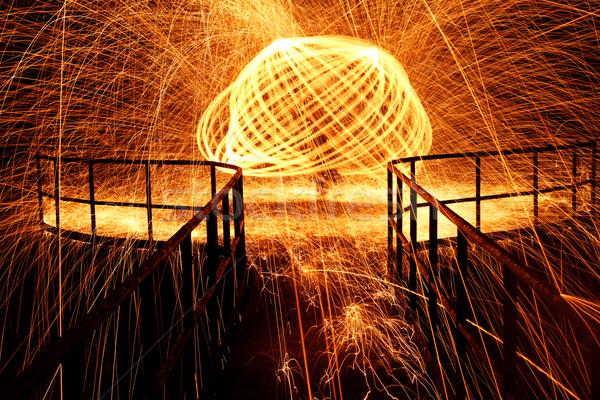 Hot glowing Stock photo © Nneirda