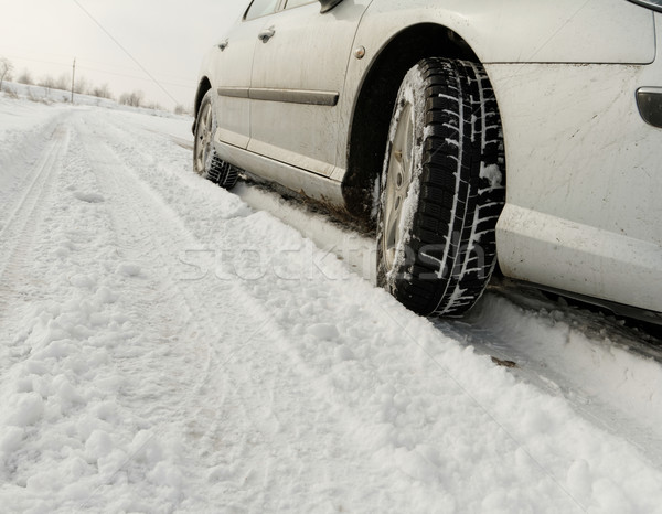 Winter tyre Stock photo © Nneirda