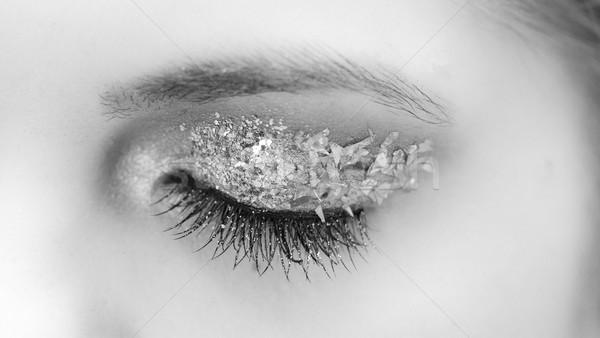 Stockfoto: Portret · mooie · kaukasisch · jonge · vrouw