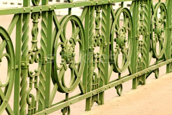 Stock photo: Historic bridge in Budapest