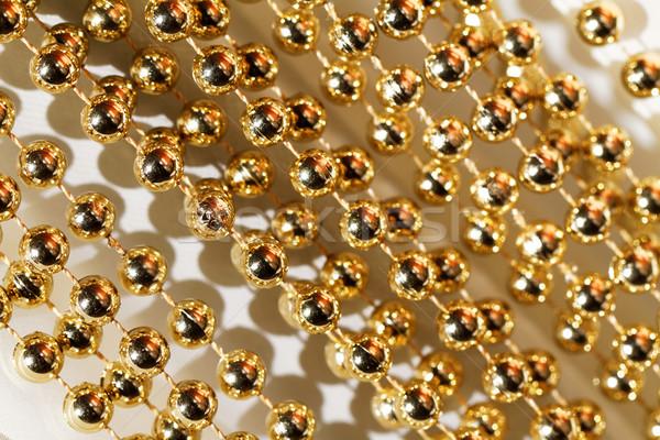 Stockfoto: Guirlande · foto · gouden · technologie
