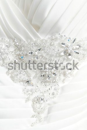 Wedding dress belt Stock photo © Nneirda