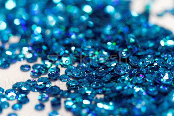Blue sequin Stock photo © Nneirda