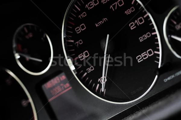 Autó műszerfal közelkép modern út technológia Stock fotó © Nneirda