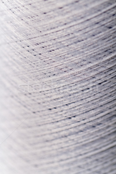 Blanco hilo foto coser textura Foto stock © Nneirda
