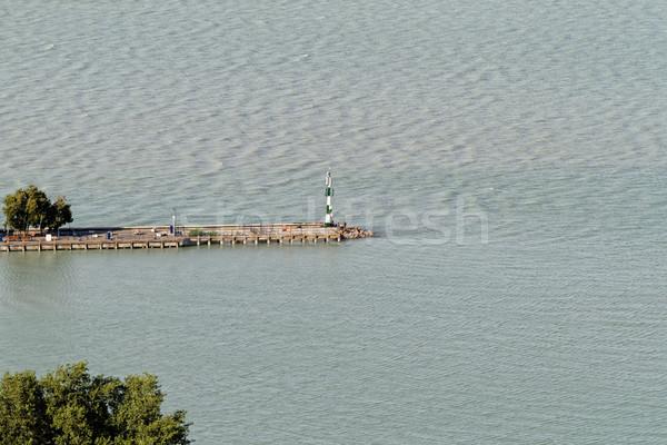 湖 バラトン湖 写真 ハンガリー ツリー 自然 ストックフォト © Nneirda