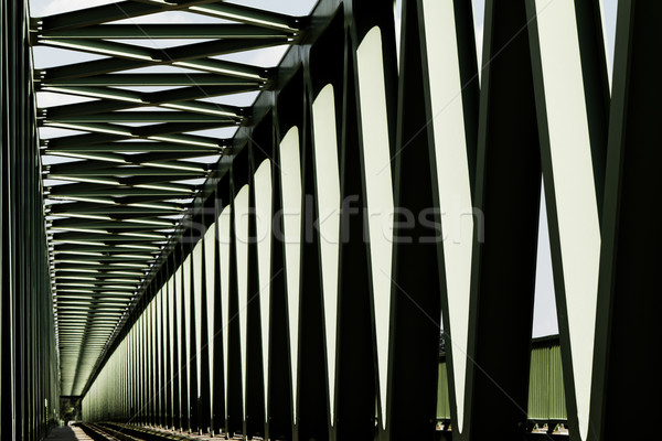 Railway bridge Stock photo © Nneirda