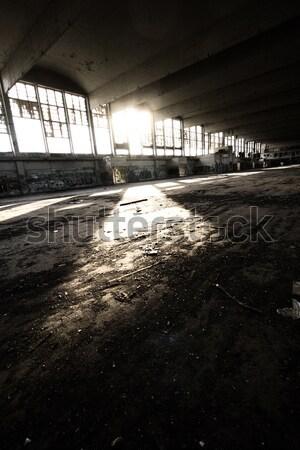 Arquitectura antigua destrucción edificio casa construcción pared Foto stock © Nneirda