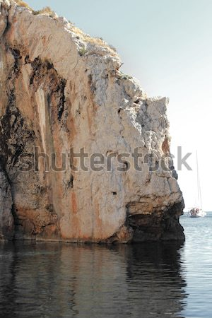 Stiniva bay in vis island Stock photo © Nneirda