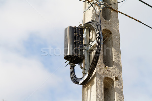 High pylon Stock photo © Nneirda