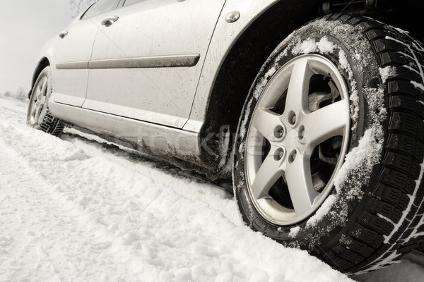 Winter tyre Stock photo © Nneirda