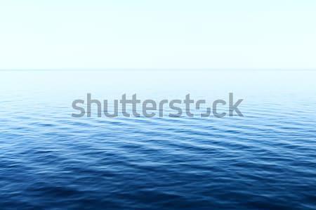 Mar foto azul agua naturaleza fondo Foto stock © Nneirda