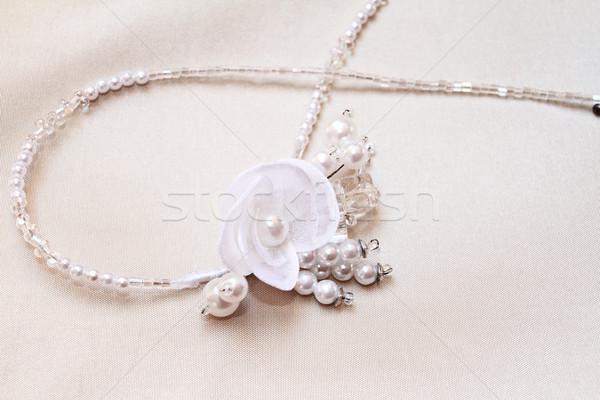 Noivas jóias belo casamento amor Foto stock © Nneirda