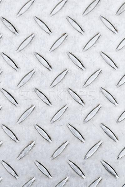 Diamant plaat roestvrij staal foto textuur abstract Stockfoto © Nneirda