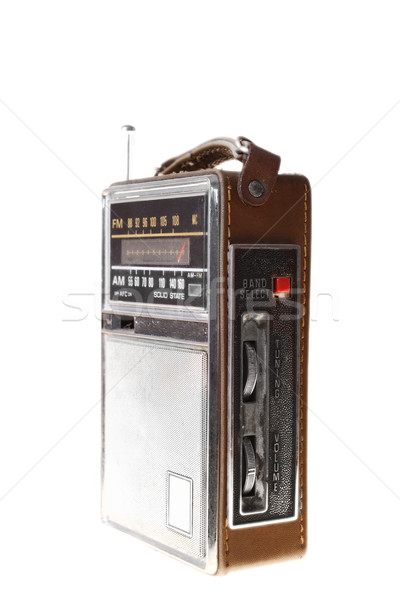 Old radio Stock photo © Nneirda