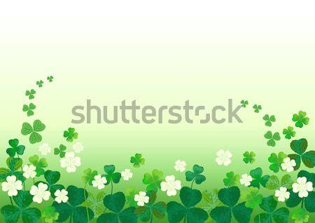 St.Patrick's Day Background Stock photo © norwayblue