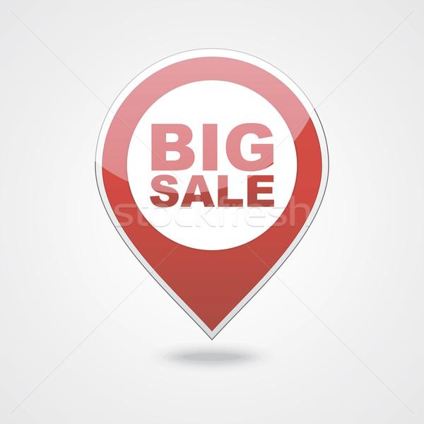 Ikonok nagy vásár vektor eps vásárlás Stock fotó © nosik