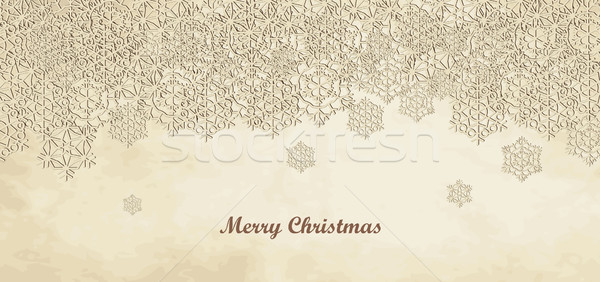 Merry Christmas Card Stock photo © nosik