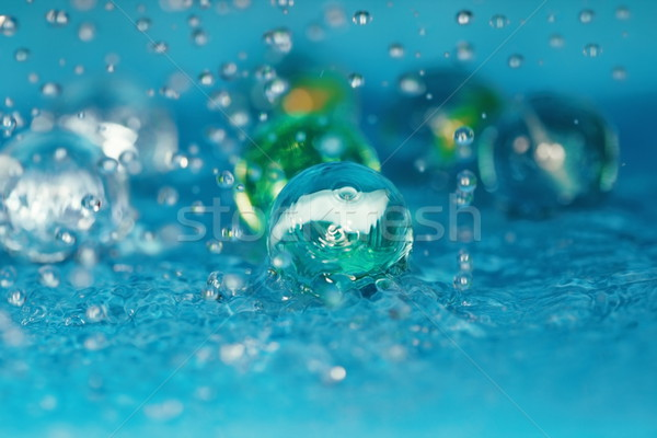 água macro foto vítreo Foto stock © Novic
