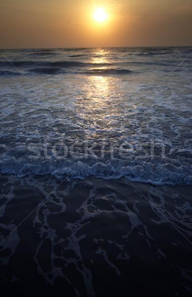 Sunset at Atlantic Ocean Stock photo © Novic