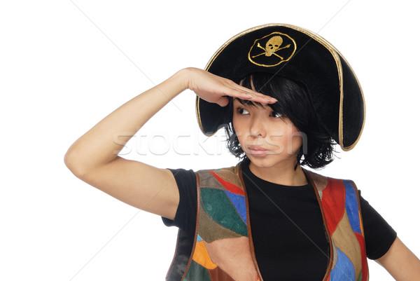 Observant piratic captain Stock photo © Novic