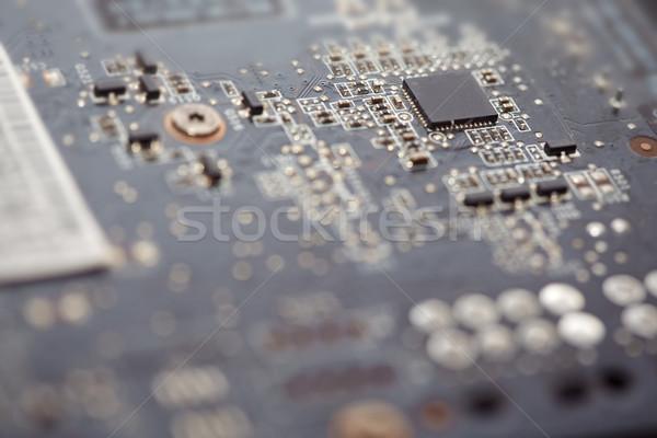 マザーボード クローズアップ 表示 現代 水平な 写真 ストックフォト © Novic