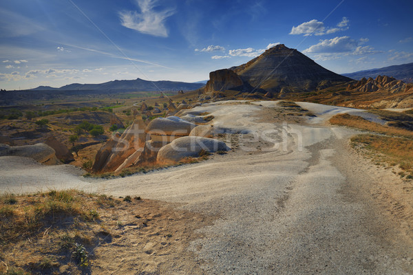 Rock formations of Cappadocia Stock photo © Novic
