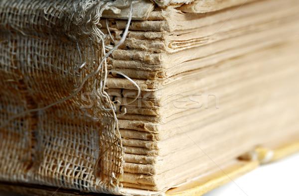 Aged book Stock photo © Novic