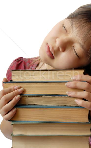 álom diák fotó fiatal alszik számos Stock fotó © Novic