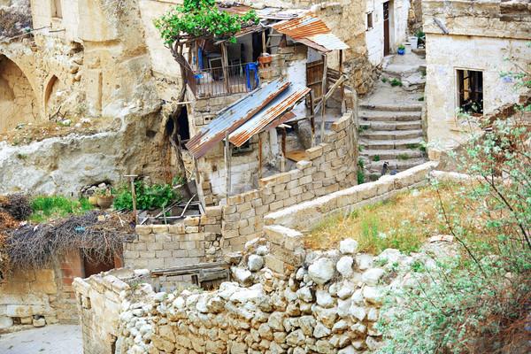 Old houses of Cappadocia Stock photo © Novic