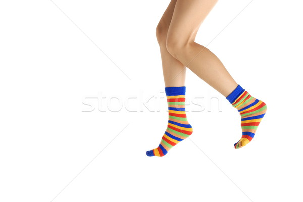 walk on tiptoe Stock photo © Novic
