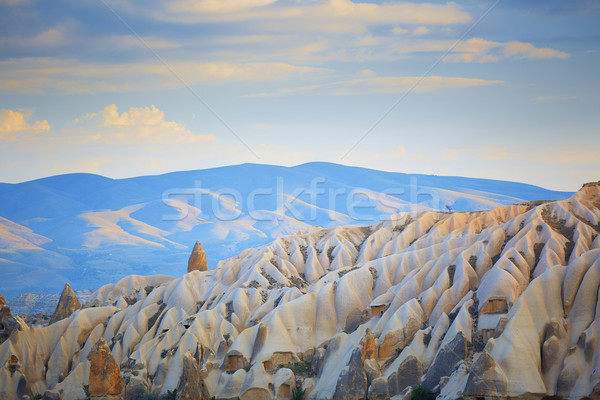 Rock formation of Cappadocia Stock photo © Novic