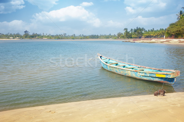 Fish boat Stock photo © Novic