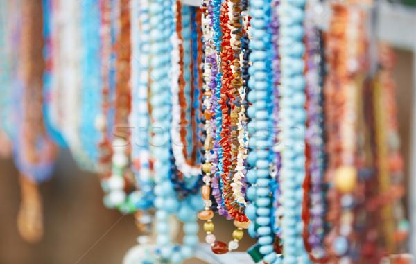 Handmade beads Stock photo © Novic