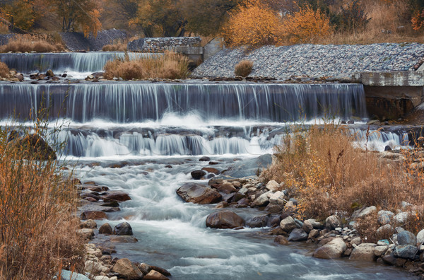 Autumn river Stock photo © Novic