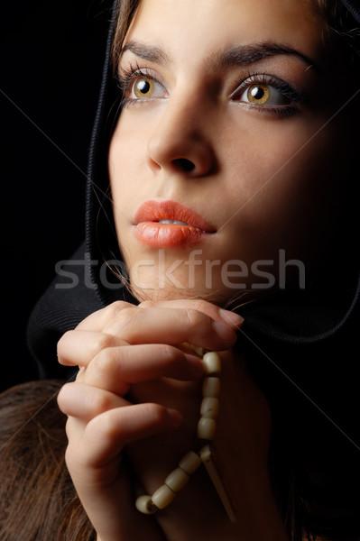 Praying Stock photo © Novic