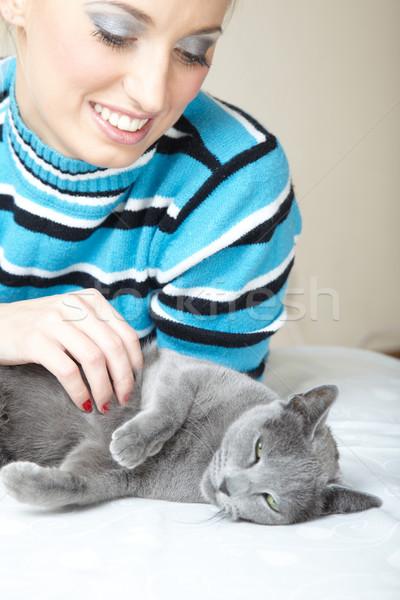 I love cat Stock photo © Novic