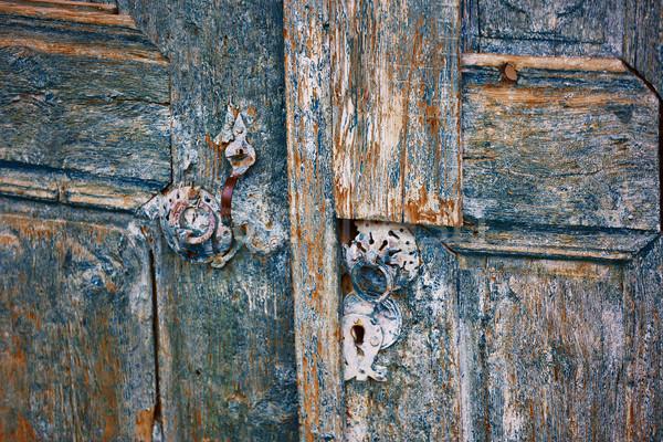 Old door Stock photo © Novic