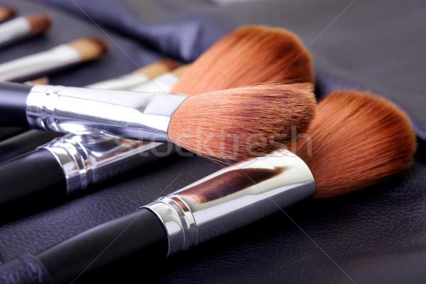 化粧品 ブラシ セット クローズアップ 写真 ストックフォト © Novic