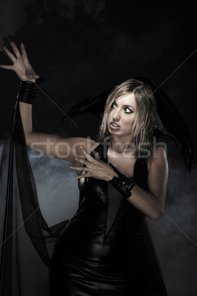 Halloween witch Stock photo © Novic