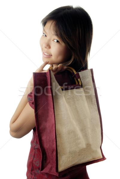 Young shopper Stock photo © Novic