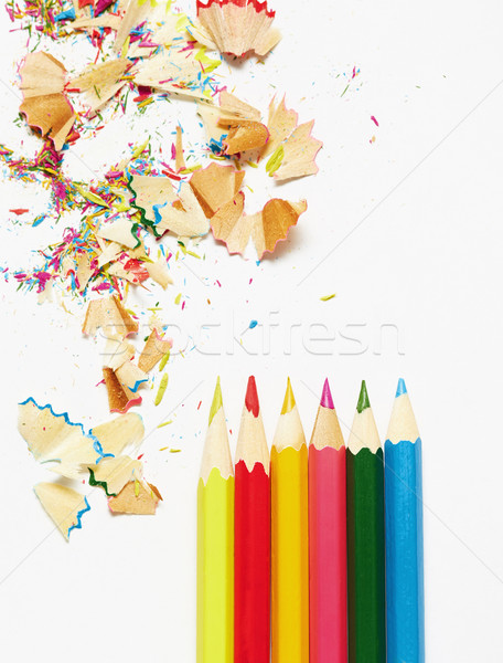 карандашей мусор мнение аннотация Сток-фото © Novic
