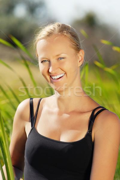 Outdoor smile Stock photo © Novic