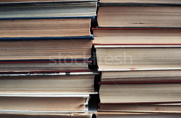 Stack of old books Stock photo © Novic