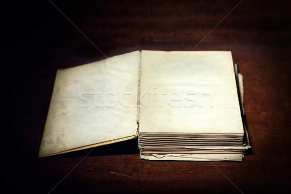 Old book Stock photo © Novic