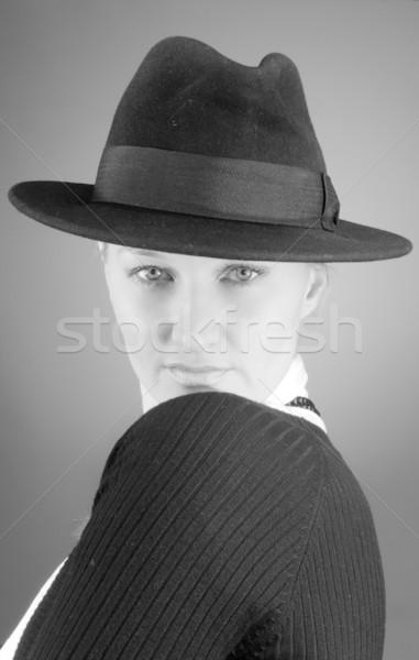 Stock photo: Pretty agent