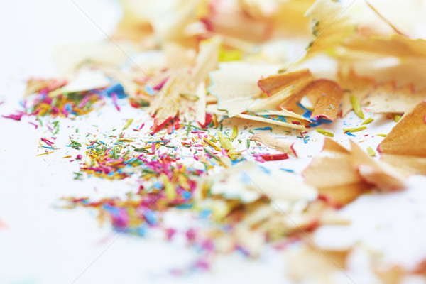 Colored pencils trash Stock photo © Novic